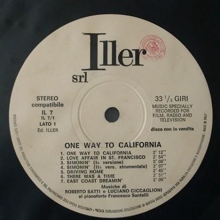 R. Satti / L. Ciccaglioni - one way to California IL 7