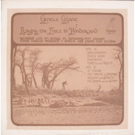 Gentle Giant - Playing the Foole.. WRMB 309
