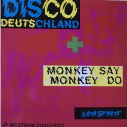 Westbam - Disco Deutschland / Monkey Say Monkey Do 04255 02