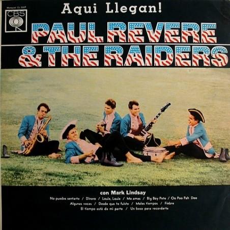 Paul Revere & The Raiders - Aqui Llegan! CL 2307