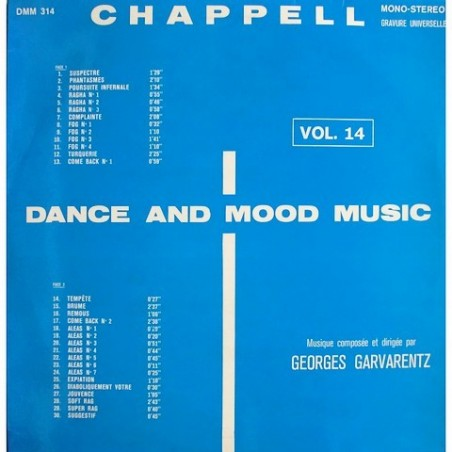 George Garvarentz - Vol. 14 DMM 314