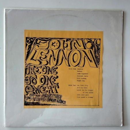 John Lennon - The One to One Concert RT-34