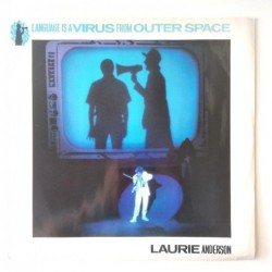 Laurie Anderson - Language is a Virus from outer space W8701T