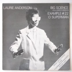 Laurie Anderson - Big Science K17941T