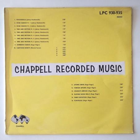 J. Hawksworth / Roger Roger - Psychedelia LPC 930-935