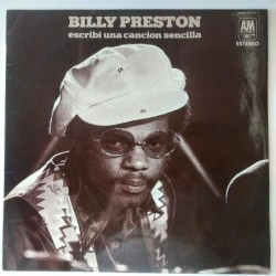 Billy Preston  - Escribi una cancion sencilla HDAS 371-67