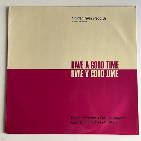 Werner Drexler Go-Go-Sound - Have a good time A 30 005