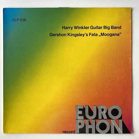 H. Winkler / G. Kingsley - Guitar Big Band / Fata Moogana ELP 536