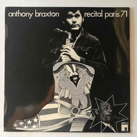 Anthony Braxton - Recital Paris 71 GER 23