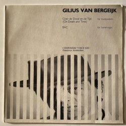 Gilius Van Bergeijk - Over de Dood en de Tijd CV 8203