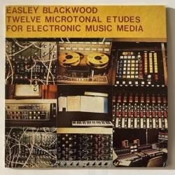 Easley Blackwood - 12 Microtonal Etudes for electronic music media E-639