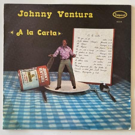 Johnny Ventura - a la carta 4034