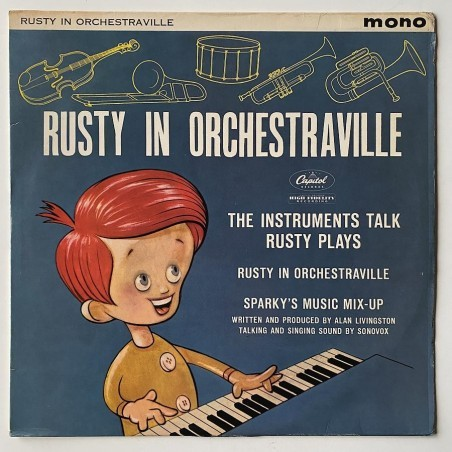 Henry Blair and Billy Bletcher - Rusty in Orchestraville T-3255