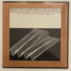 Various Artist - Computer Music from the Outside In FSS 37465