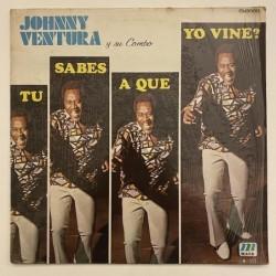 Johnny Ventura y su combo - Tu saes a que yo vine? M-003