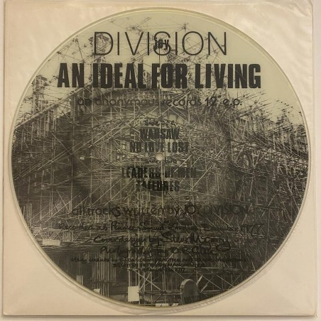 Joy Division - An Ideal for living W/N-1A L/F 1B
