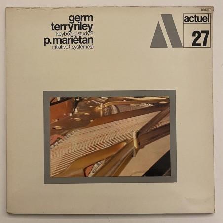 GERM / Terry Riley / P. Marietan - Keyboard Study 2 529327