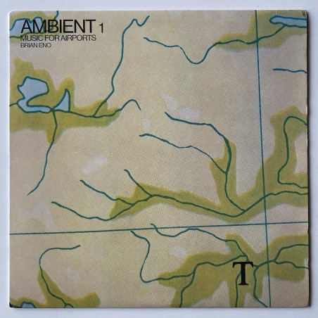 Brian Eno - Ambient 1 Music for airports EGS 201