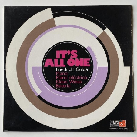 Friedrich Gulda - It's all one 32 53285 (730)
