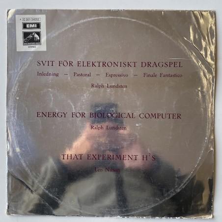 Ralph Lundsten / Leo Nilsson - Svit För Elektroniskt Dragspel A 3