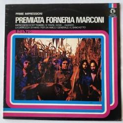 Premiata Forneria Marconi - Prime Impressioni ZNLN 33021