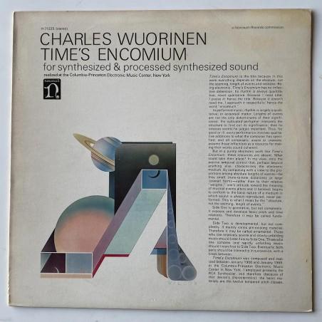 Charles Wuorinen  - Time's Encomium H-71225