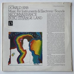 Donald Erb - Music for Instruments and Electronic sounds H-71223