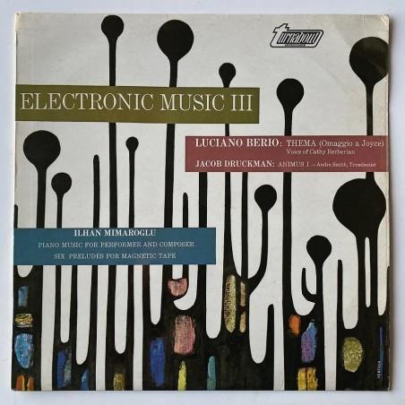 Various Artist - Electronic Music  III TV 34177S