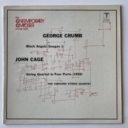 G.Crumb /J. Cage - The Concord String Quartet TV-S 3461