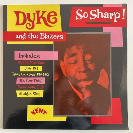 Dyke and the Blazers - So Sharp KEND 004