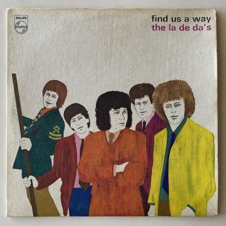 La de  da's - find us a way PL 08792