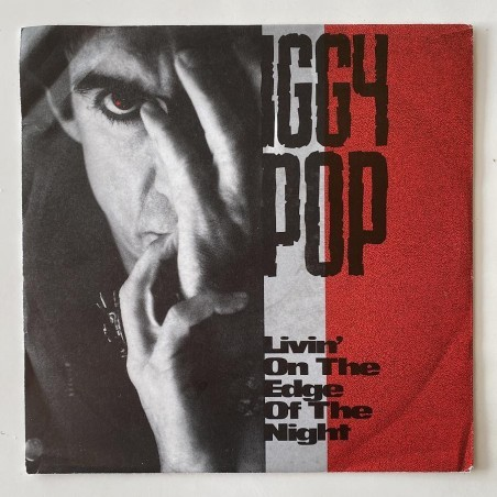 Iggy Pop - Livin' on the Edge of the Night VUS 18