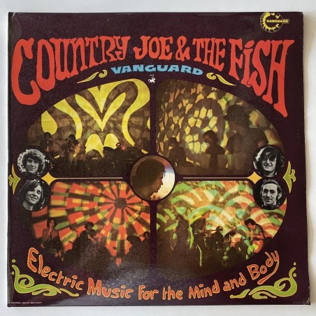 Contry Joe and the Fish - Electric Music for the mind and body VSD 79244