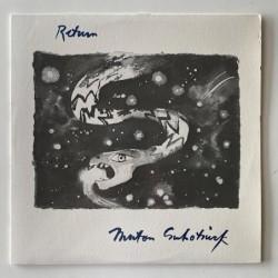 Morton Subotnick - Return 010