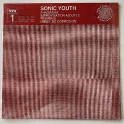 Sonic Youth - Anagrama SYR 1