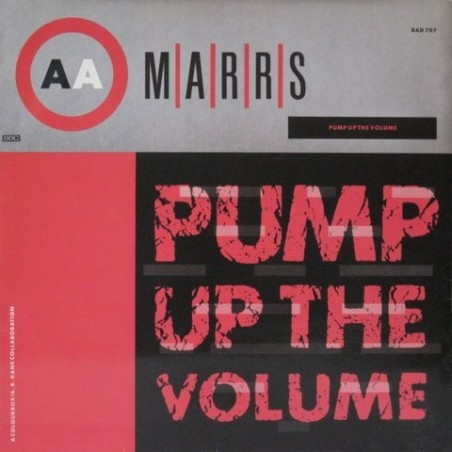Marrs - Pump up the volume BAD 707