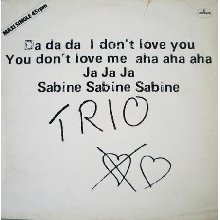 Trio - Da da da i don't love you... 6400 579