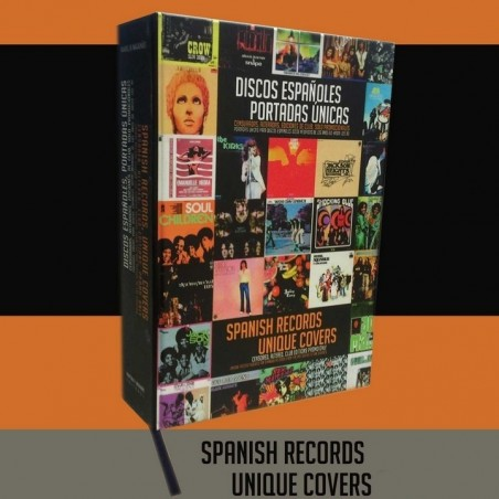 Manuel de Magalhaes - Collector's Book - Spanish records / Unique covers - Discos Españoles / Portadas Unicas 1