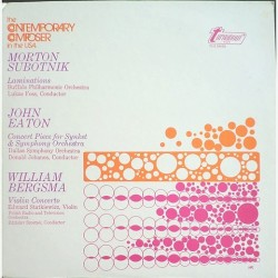 Morton Subotnick - Contemporary composer in the USA TV-S 34428