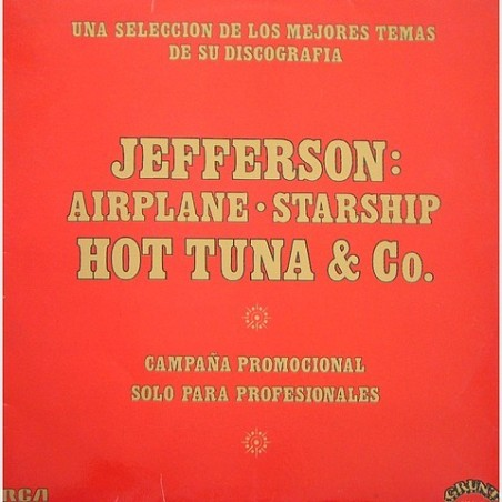 Jefferson Airplane / Starship / Hot Tuna & co. - Promocional ESP-1015
